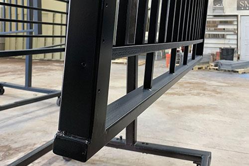 Jet Black Handrails Utah