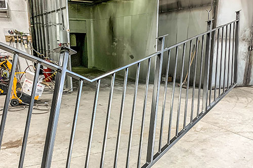 Quaker Bronze Powder Coated Railing
