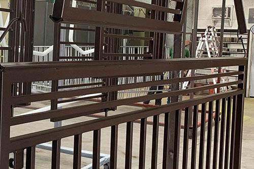 Breccia Design Powder Coated Railing