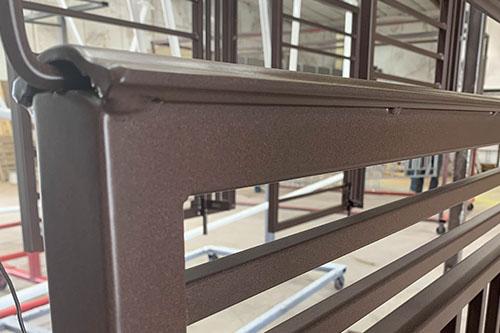 Breccia Powder Coated Handrails