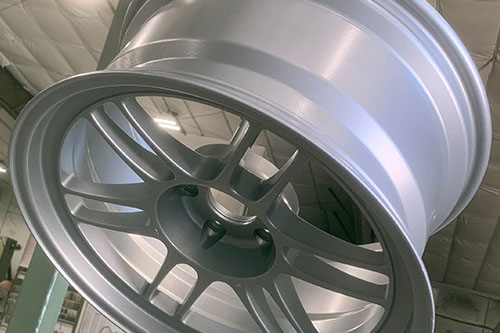 Stardust Silver Powder Coated Car Aluminum Rims