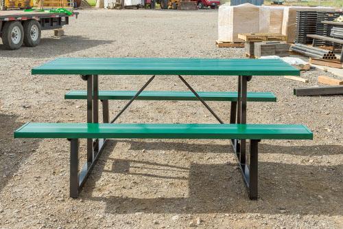 Green Powder Coat Tables
